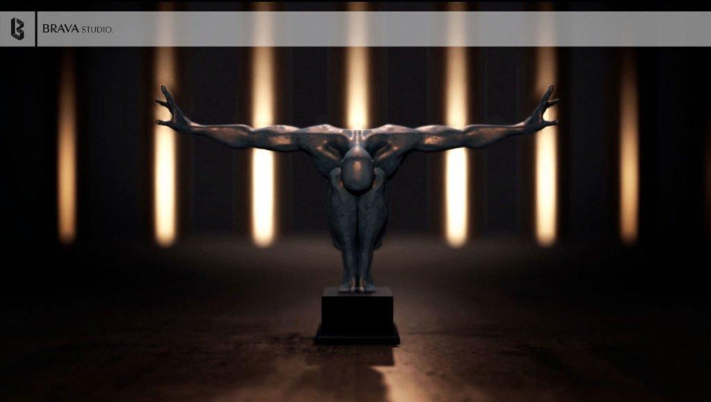 Carthage Sculpture CGI